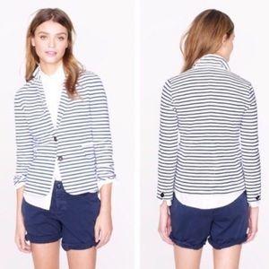 ~ Striped J. Crew Sweater Blazer ~